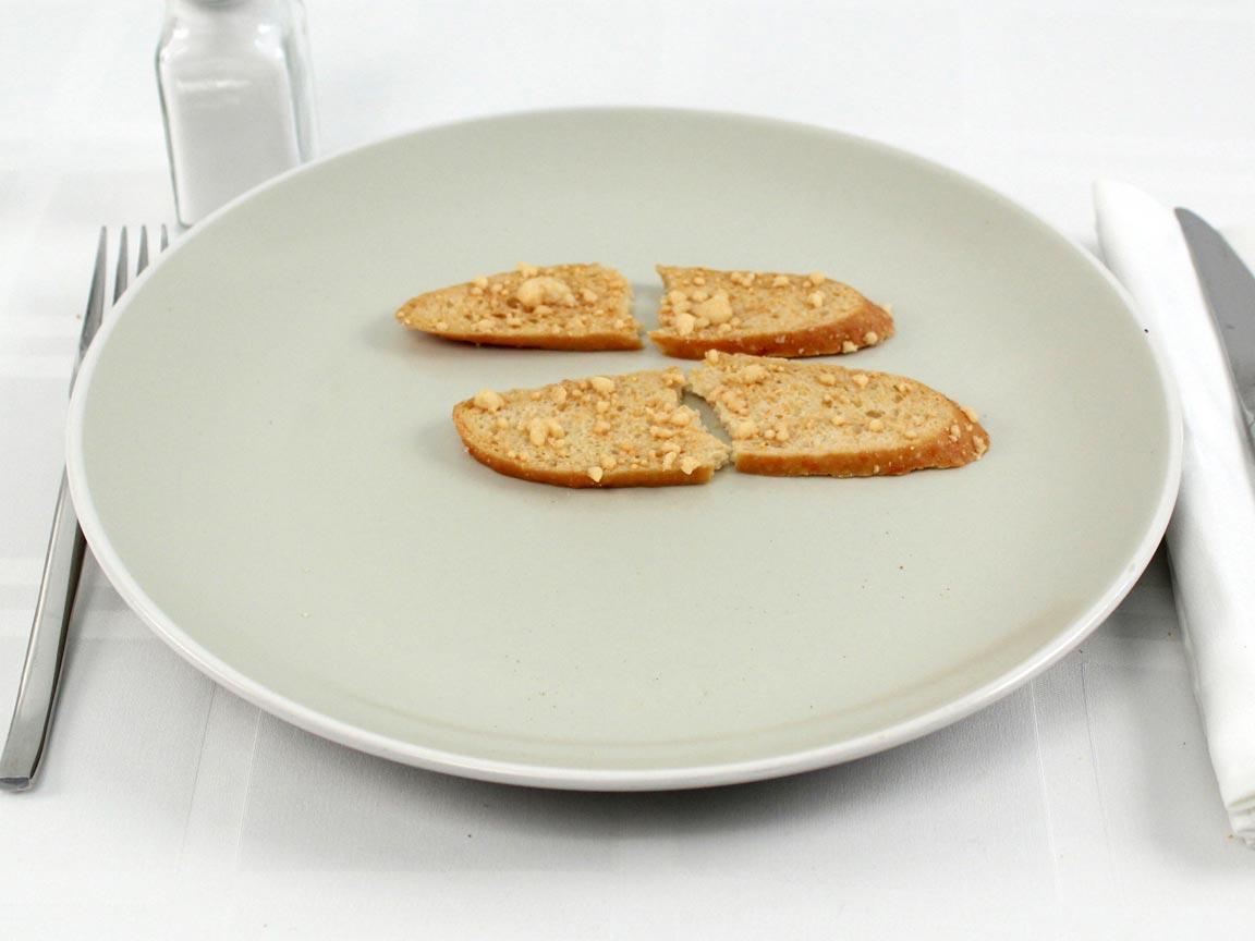 Calories in 2 piece(s) of Parmesan Crisps