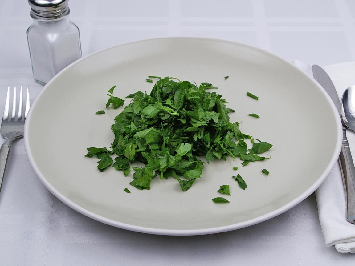 Calories in 1 cup(s) of Parsley - Fresh