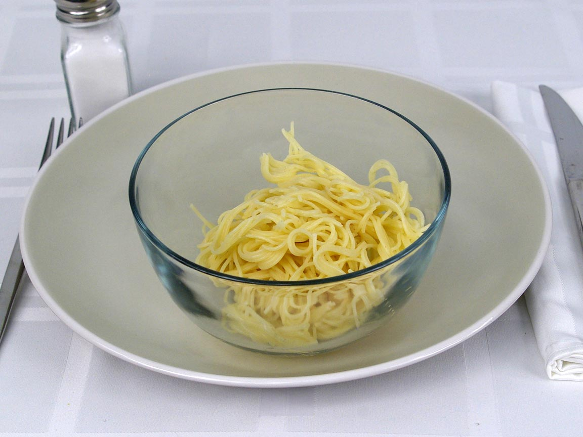 Calories in 113 grams of Angel Hair Pasta - Bowl