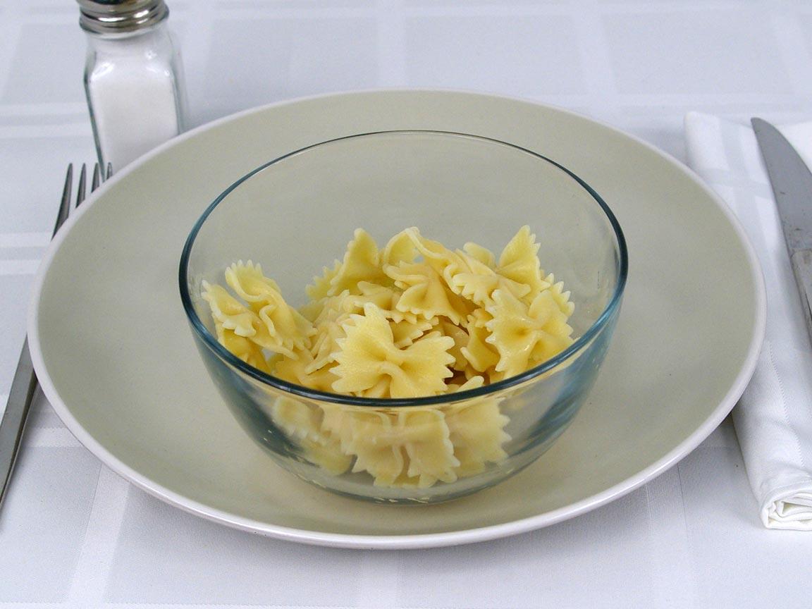 Calories in 113 grams of Farfalle Pasta