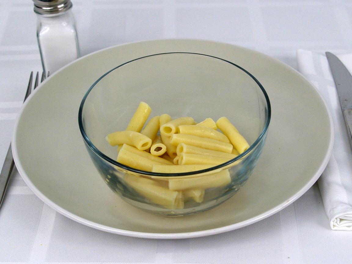 Calories in 113 grams of Rotelle Pasta