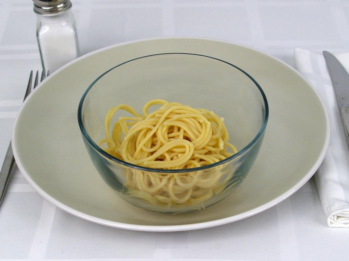 Calories in 113 grams of Spaghetti Pasta