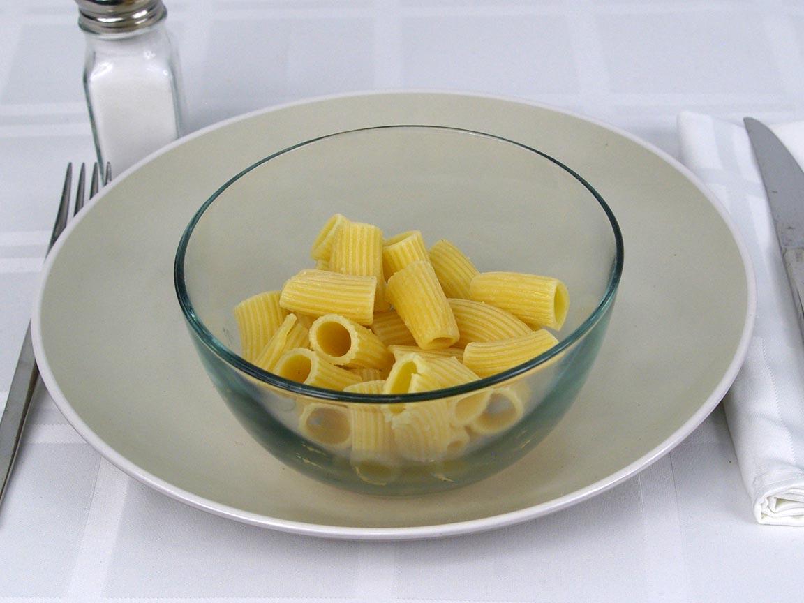 Calories in 113 grams of Ziti Pasta