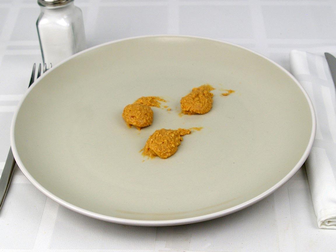 Calories in 1.5 Tbsp(s) of Peanut Butter - Crunchy