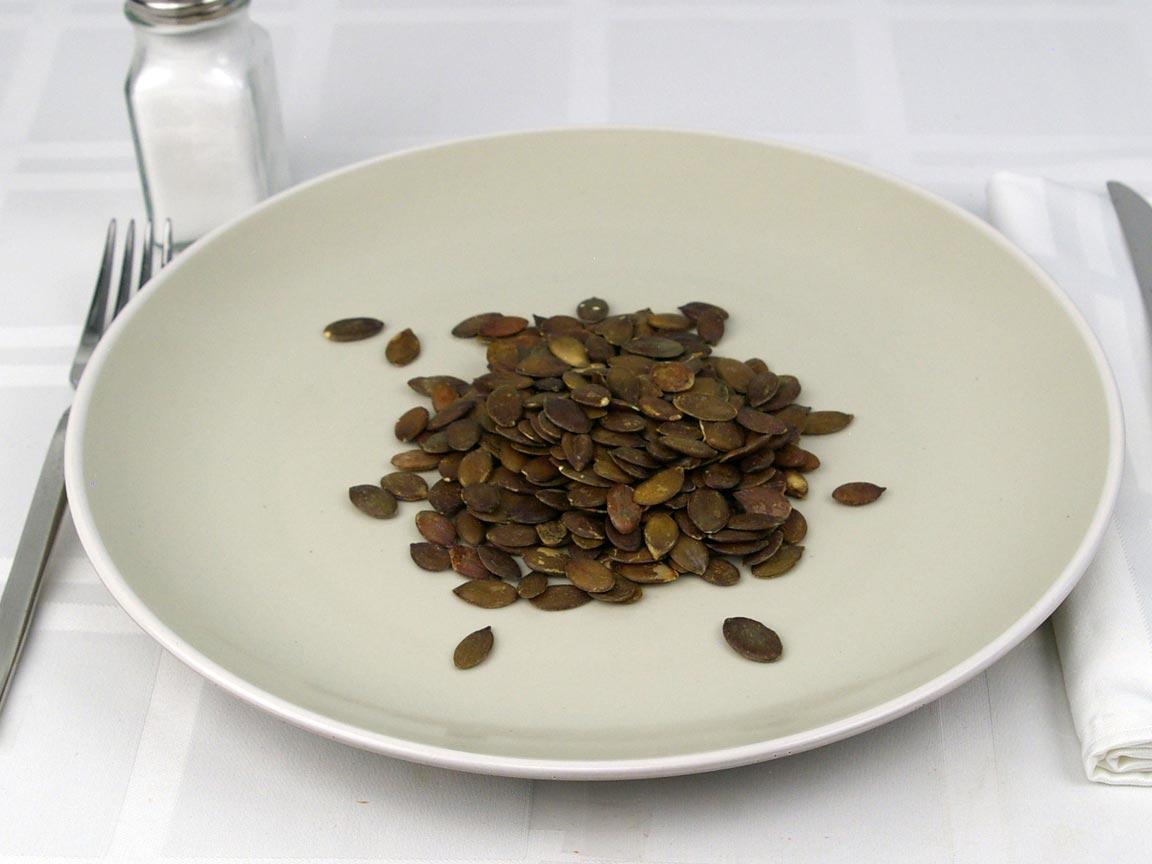 Calories in 42 grams of Pepitas