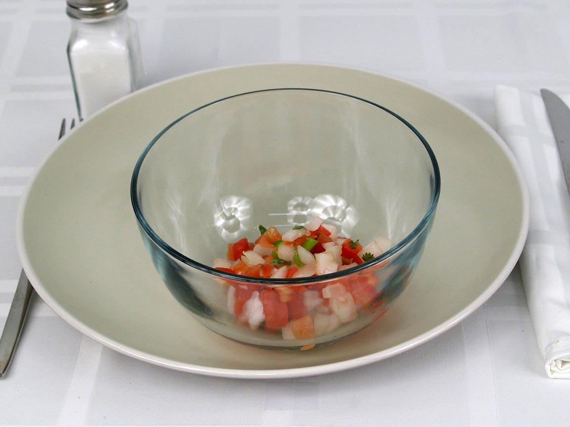 Calories in 4 Tbsp(s) of Pico De Gallo Fresh Tomato Salsa