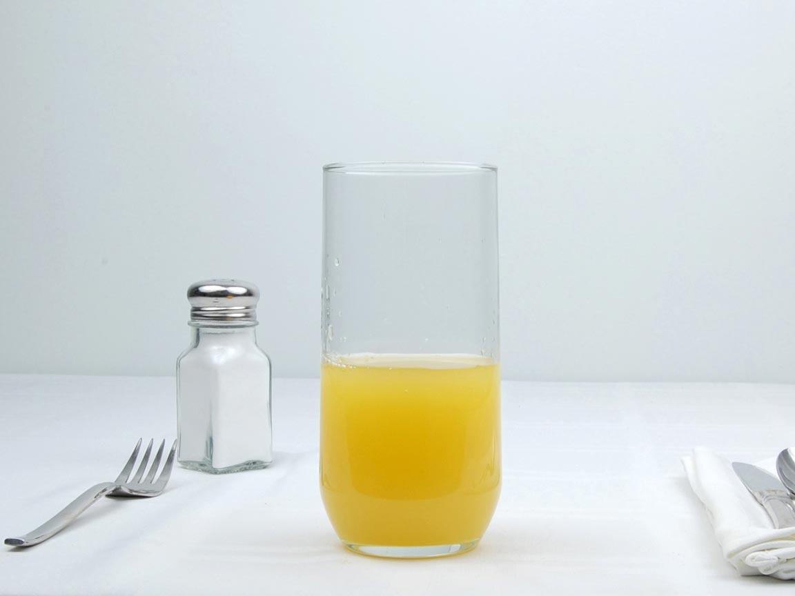 Calories in 7 fl oz(s) of Pineapple Juice
