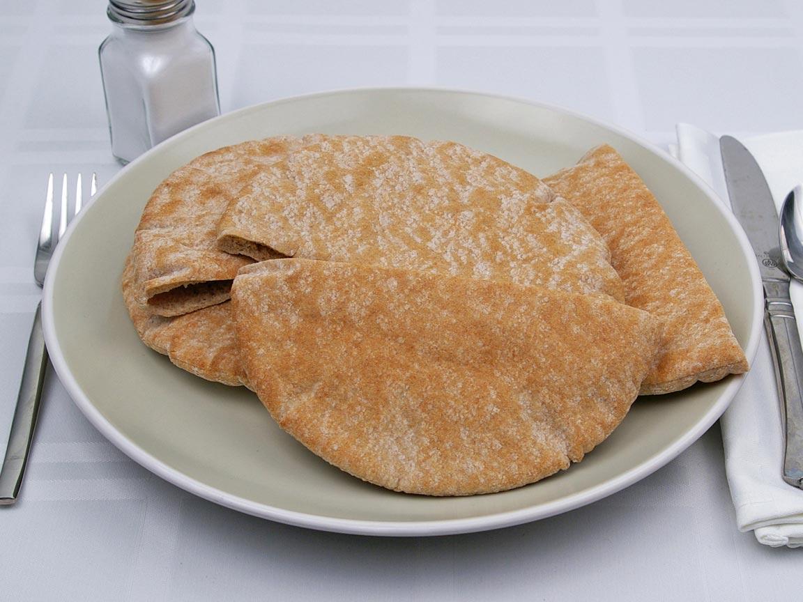 Calories In 3 Pita S Of Pita Bread