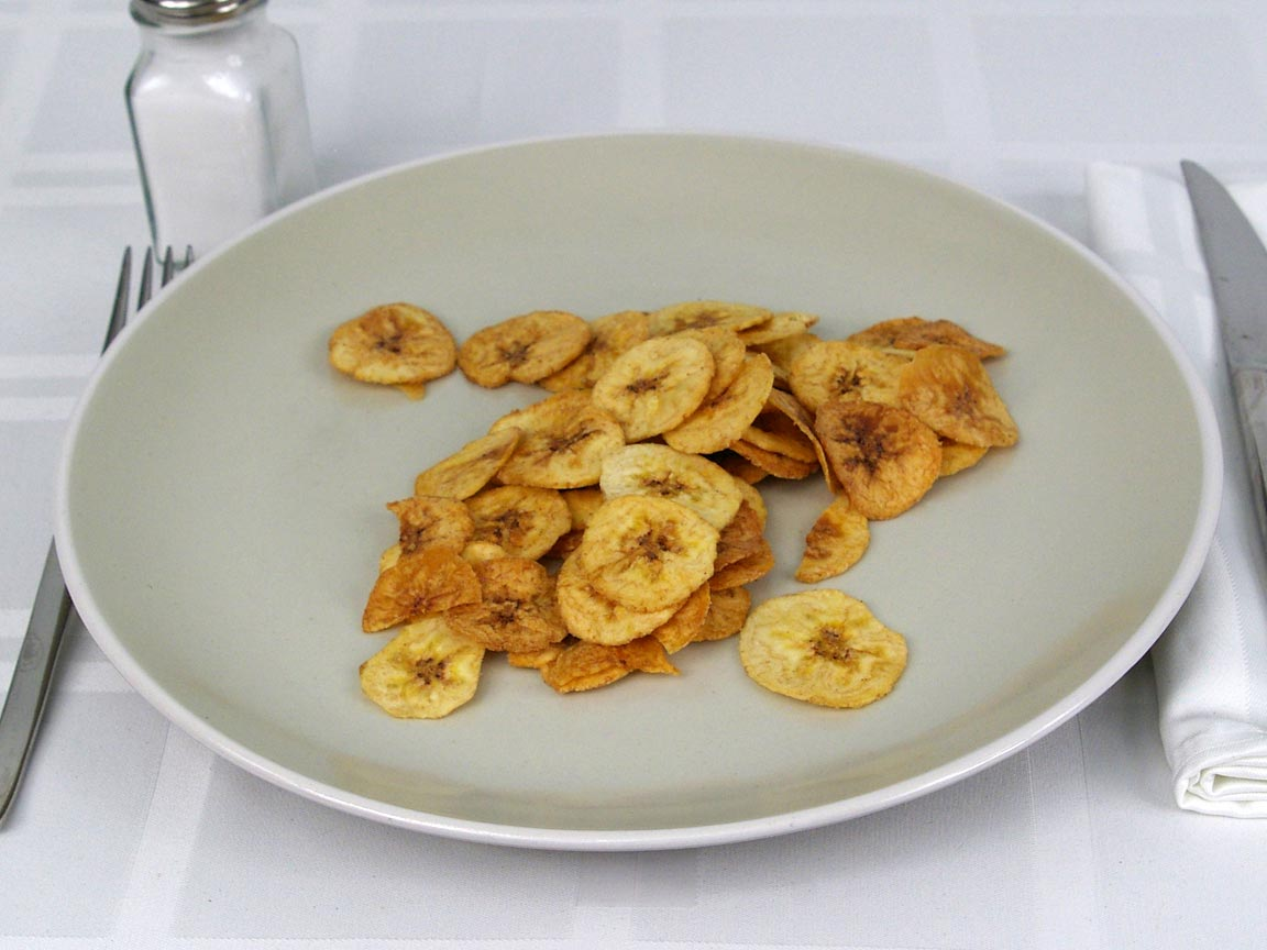 Calories In 28 Grams Of Plantain Chips Sweet