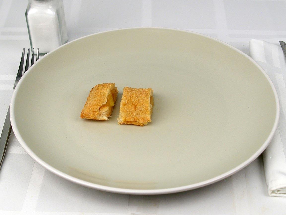 Calories in 0.5 pie(s) of Popeye's Apple Pie