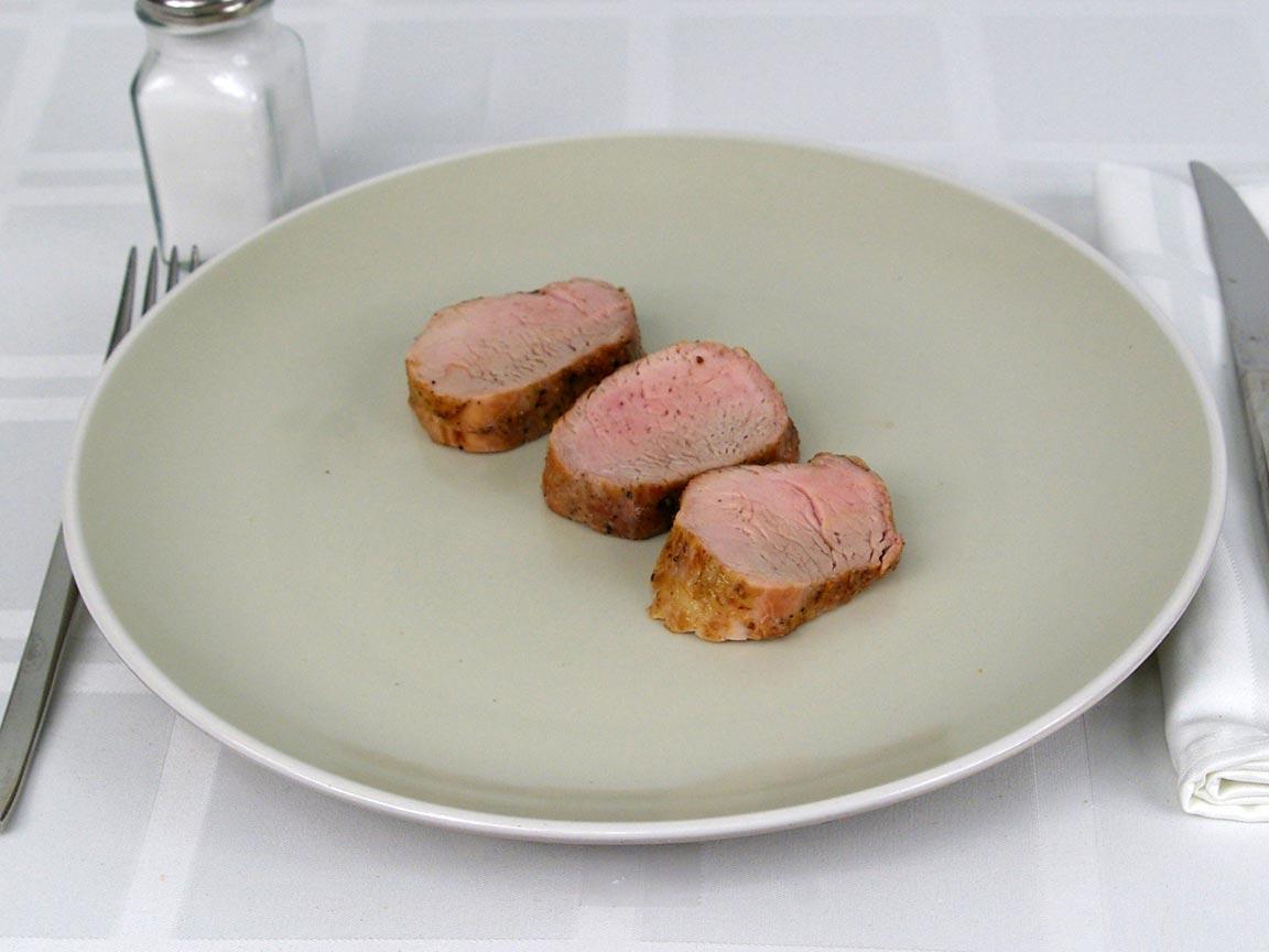Calories in 85 grams of Pork Tenderloin