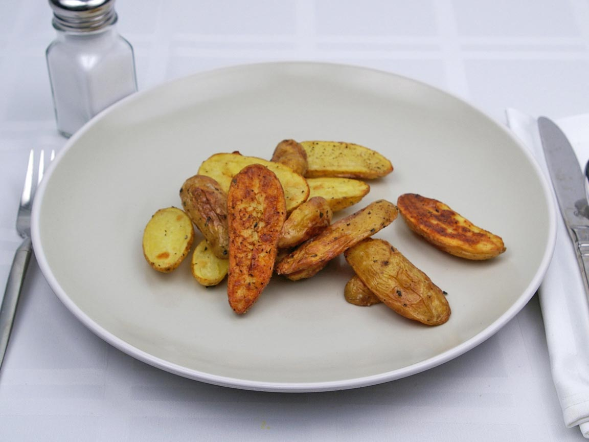 Calories in 141 grams of Fingerling Potatoes - No Fat Added