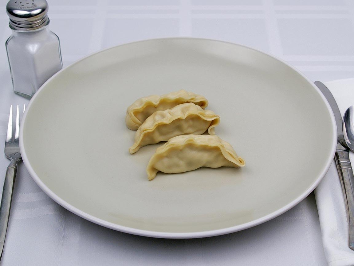 Calories in 3 potsticker(s) of Potsticker - Chicken