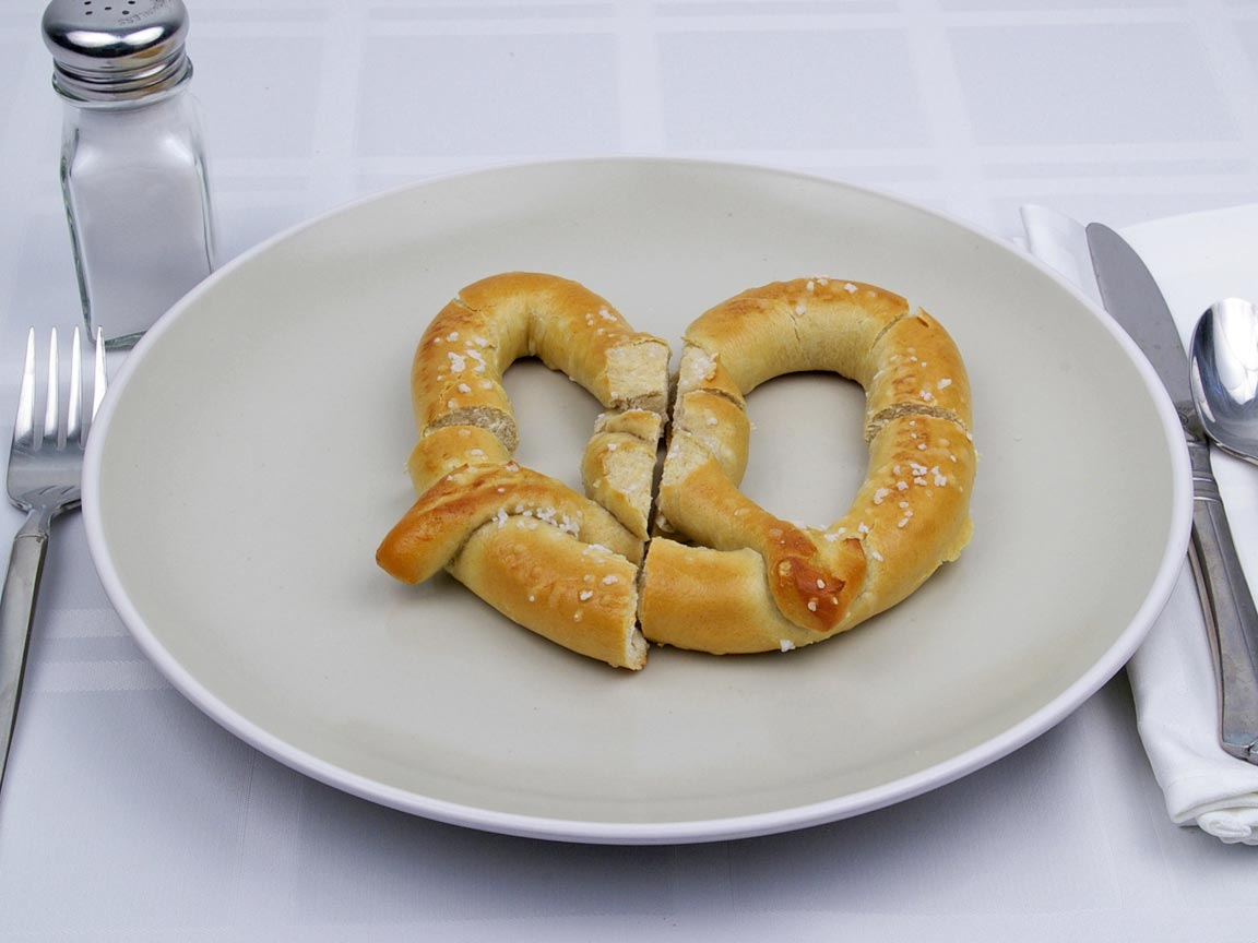 Calories in 141 grams of Pretzel - Soft