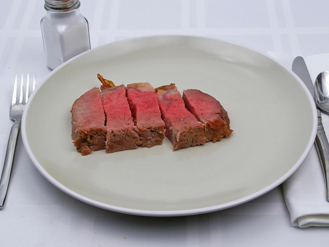 Calories in 141 grams of Prime Rib - Standing Rib Roast