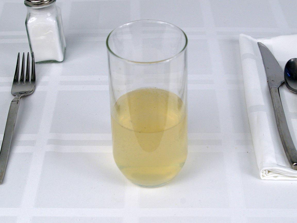 Calories in 8 fl oz(s) of Sparkling Probiotic Drink Lemon Cayenne