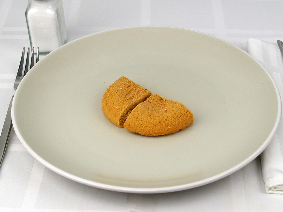 Calories in 0.5 cookie(s) of Protein Cookie - Snickerdoodle