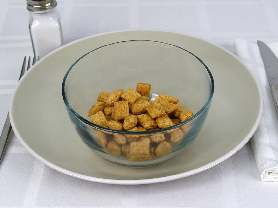 Calories in 1 cup(s) of Puffins Cereal