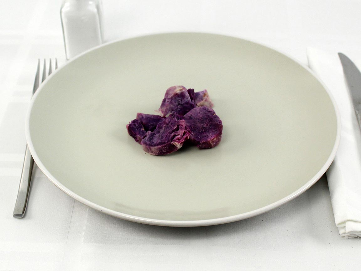 Calories in 45 grams of Purple Yam - Ube - Baked