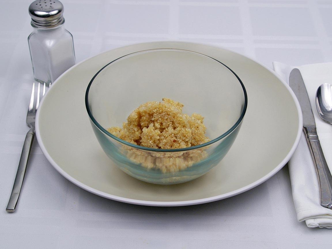 Calories in 1 cup(s) of Quinoa