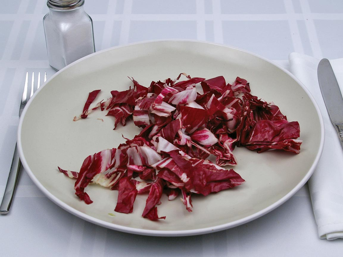 Calories in 1 cup(s) of Radicchio