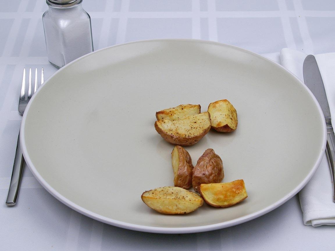 Calories in 56 grams of Red Potatoes - No Oil