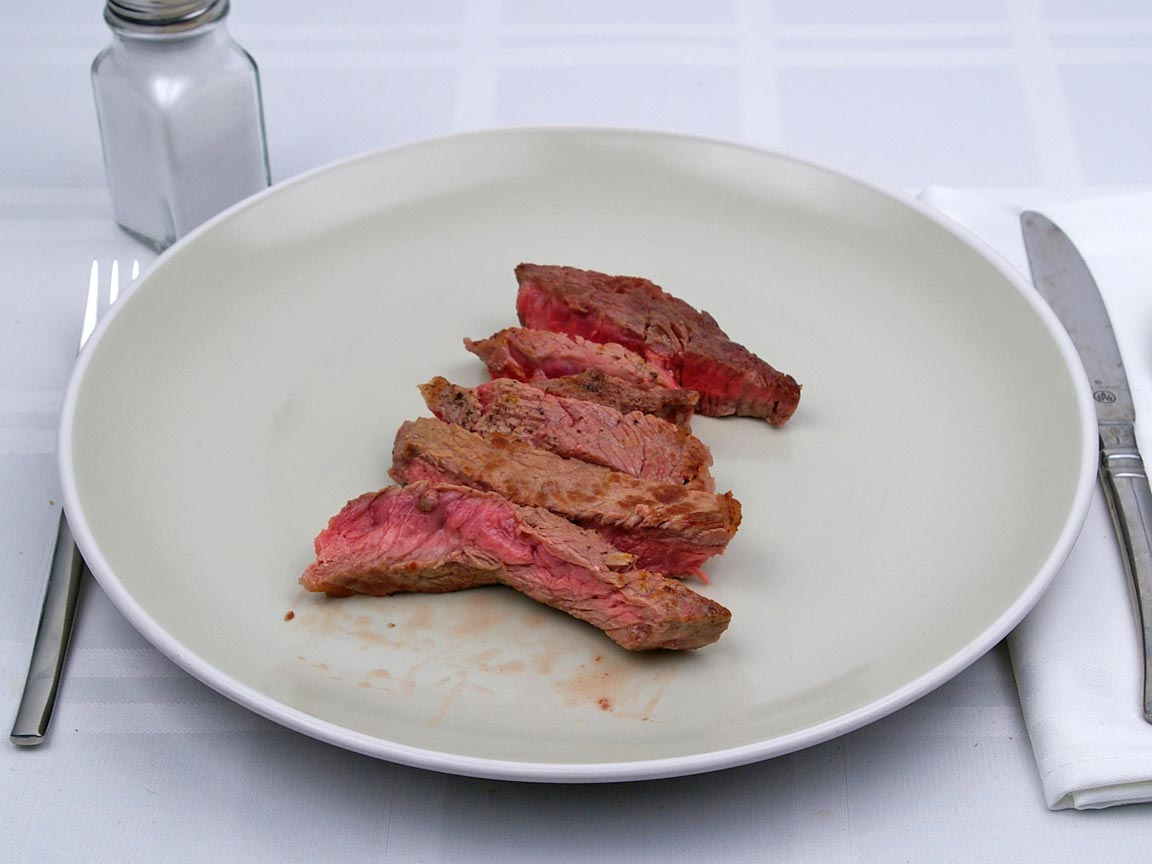 Calories in 141 grams of Rib Eye Steak