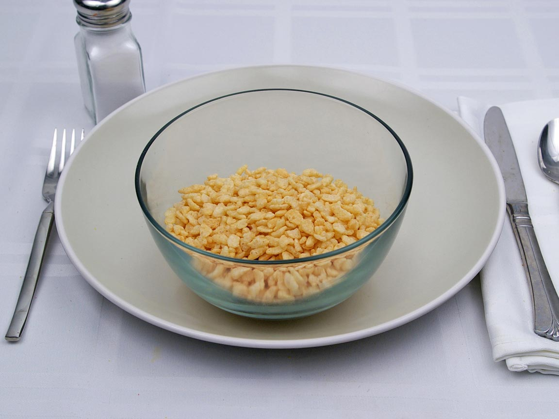 Calories in 1.25 cup(s) of Rice Krispies® Cereal