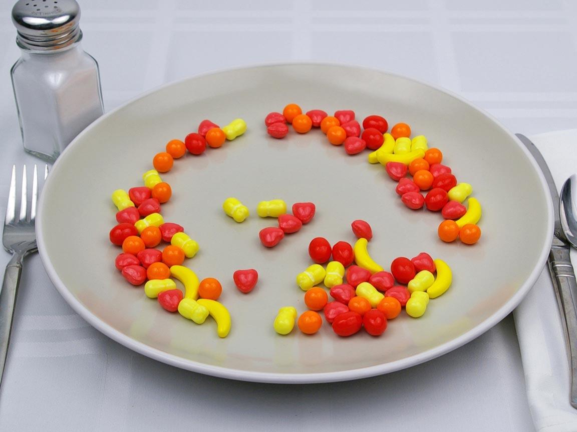 Calories in 113 grams of Runts