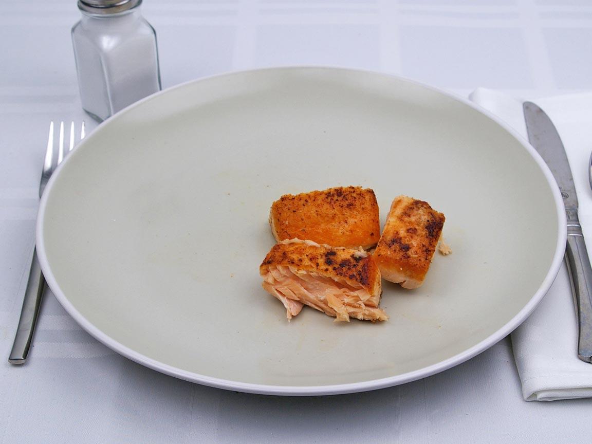 Calories in 85 grams of Salmon