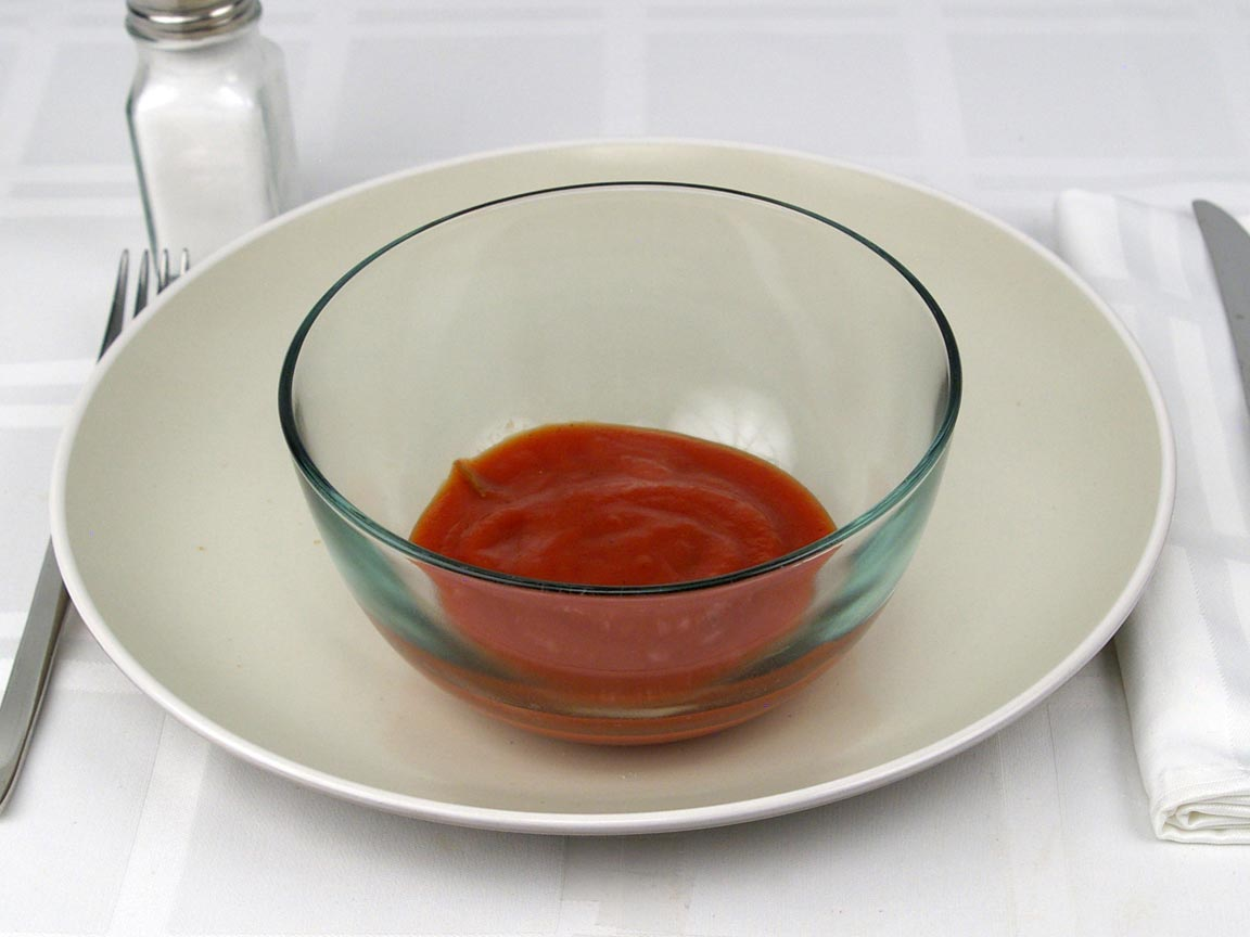 Calories in 0.5 cup(s) of Sloppy Joe Sauce - No Meat