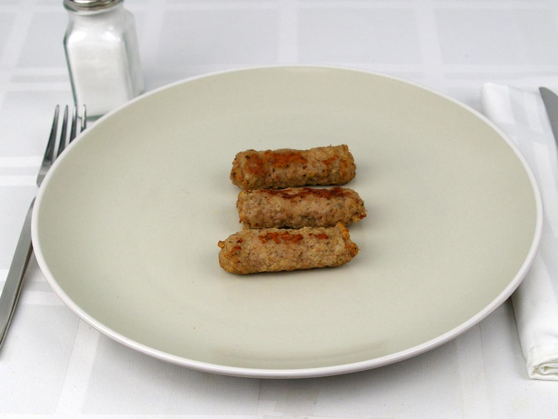 Calories in 3 link(s) of Turkey Sausage Link