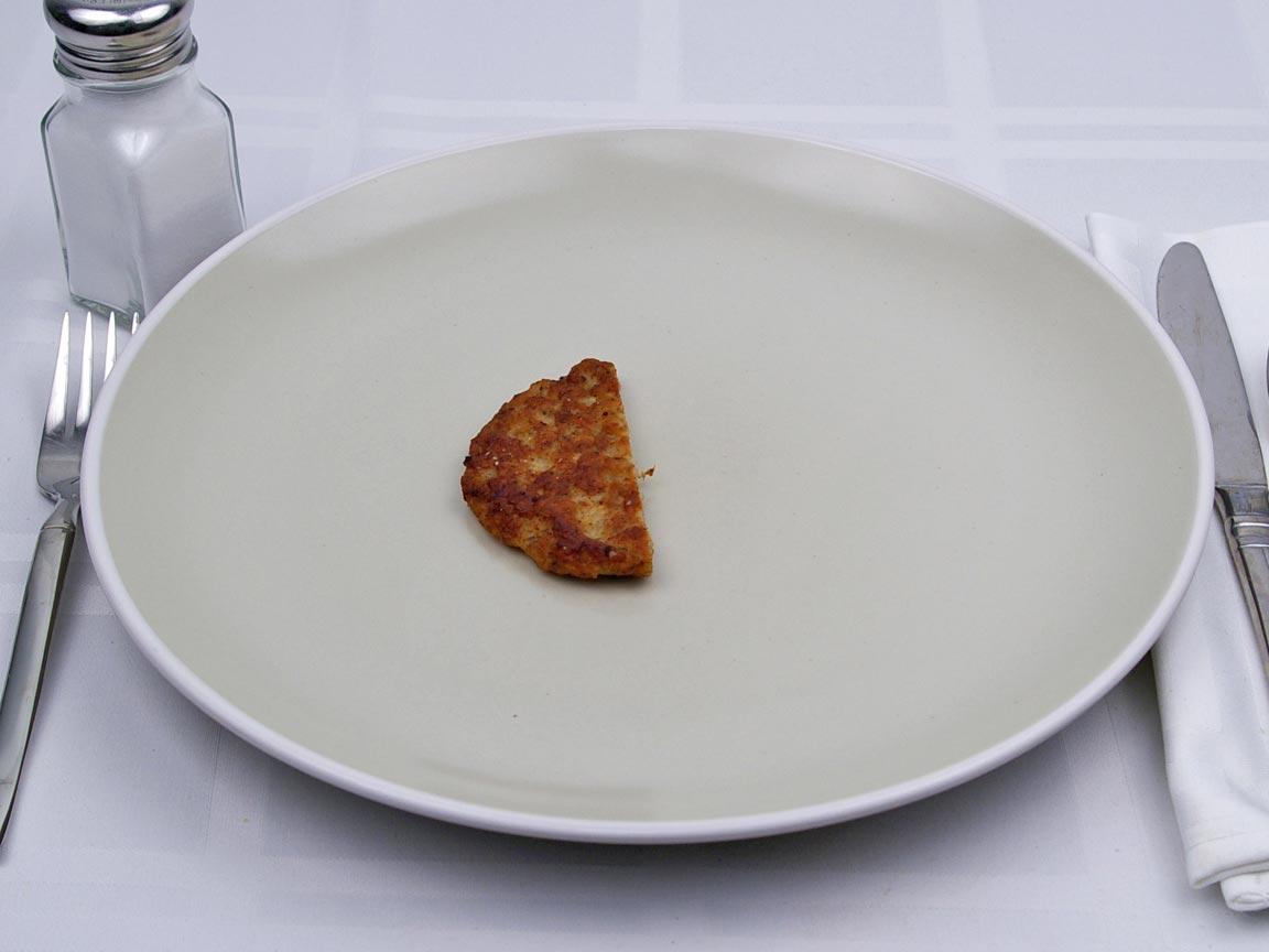 Calories in 0.5 patty of McDonald's - Sausage Patty