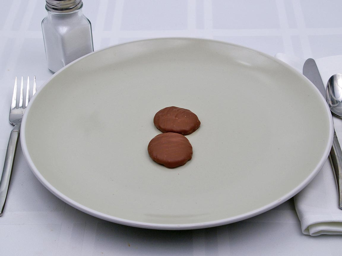 Calories in 2 piece(s) of See's Candy Milk Patties