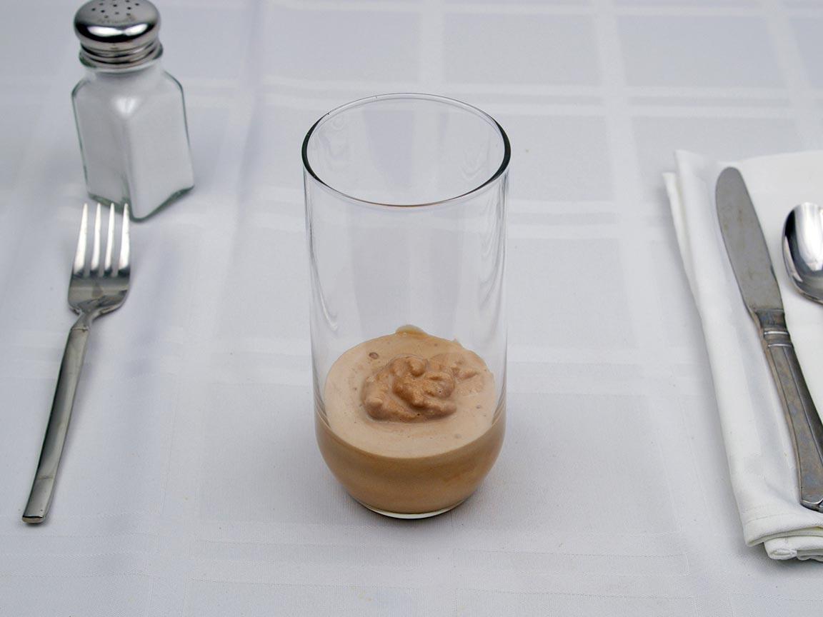 Calories In 85 Grams Of Chocolate Milk Shake Avg