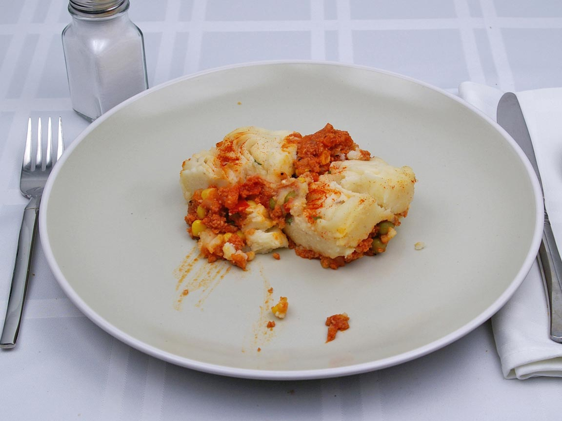Calories in 170 grams of Shepherd's Pie With Meat