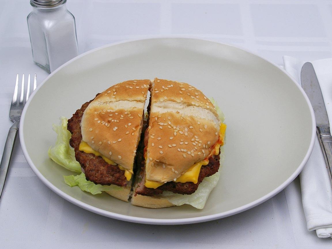 Calories in 1 burger(s) of Carl's Jr - Original Six Dollar ThickBurger