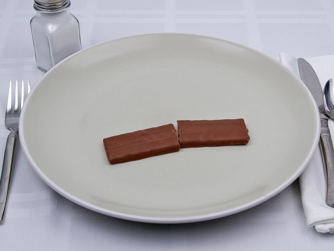 Calories in 1 bar(s) of Skor