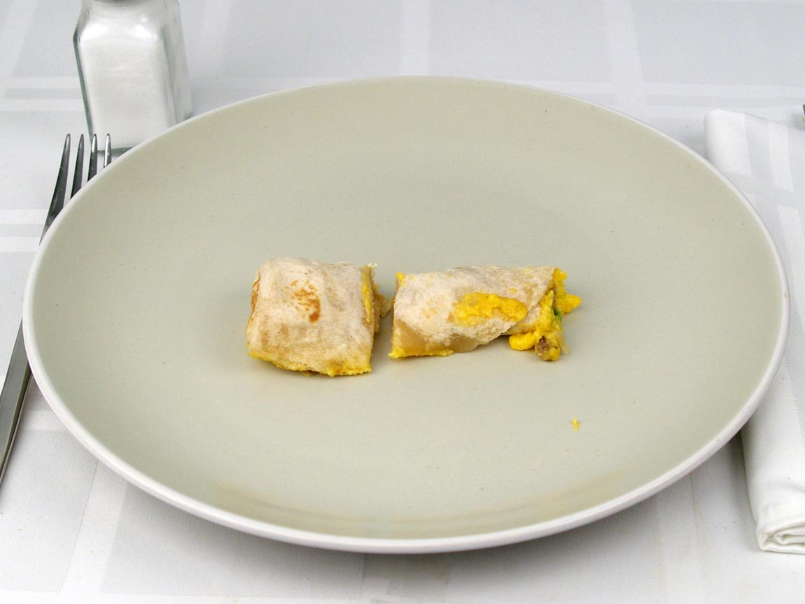 Calories in 1 wrap(s) of Smart Ones Breakfast Wrap Egg Sausage