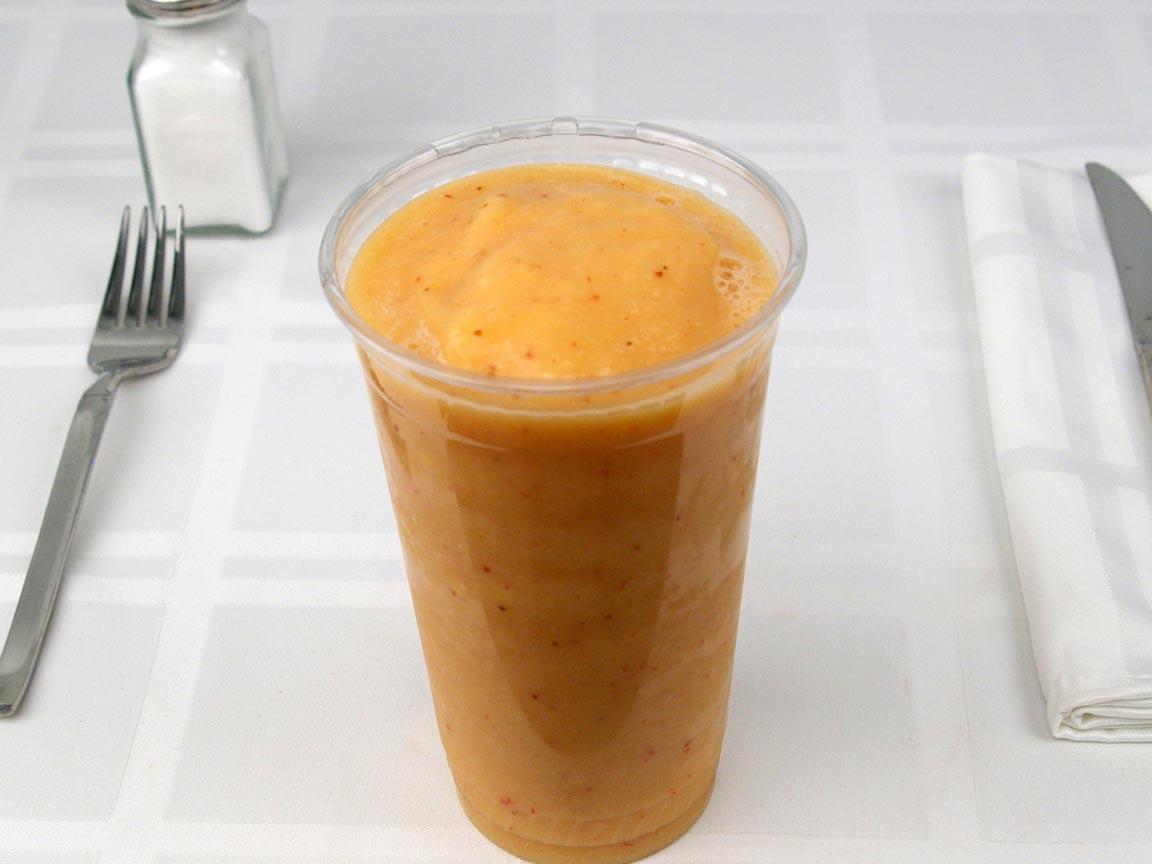 Calories In 1 38 Small S Of Jamba Juice Mango Smoothie