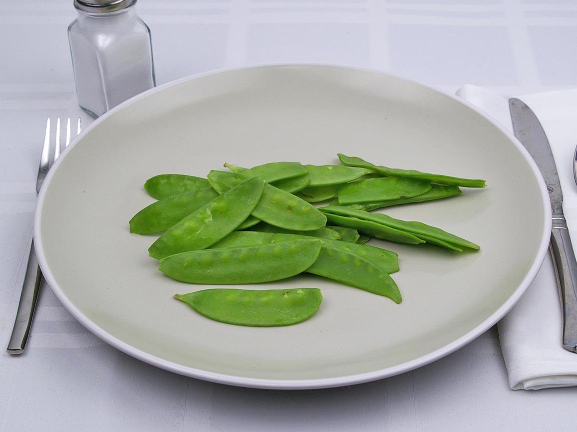 Calories in 113 grams of Snow Peas