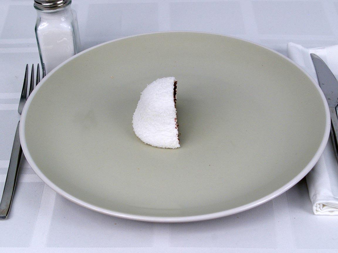 Calories in 0.5 ea(s) of Sno Ball