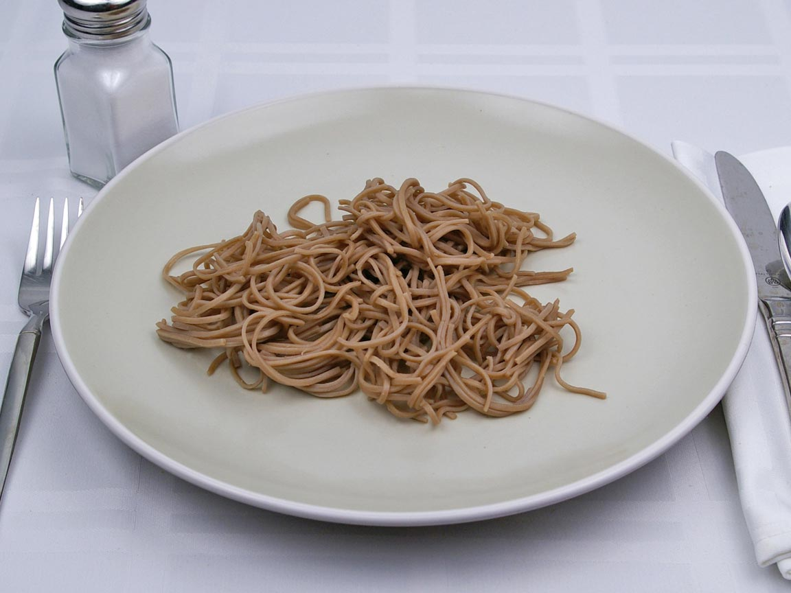 Calories in 1 cup(s) of Soba Noodles