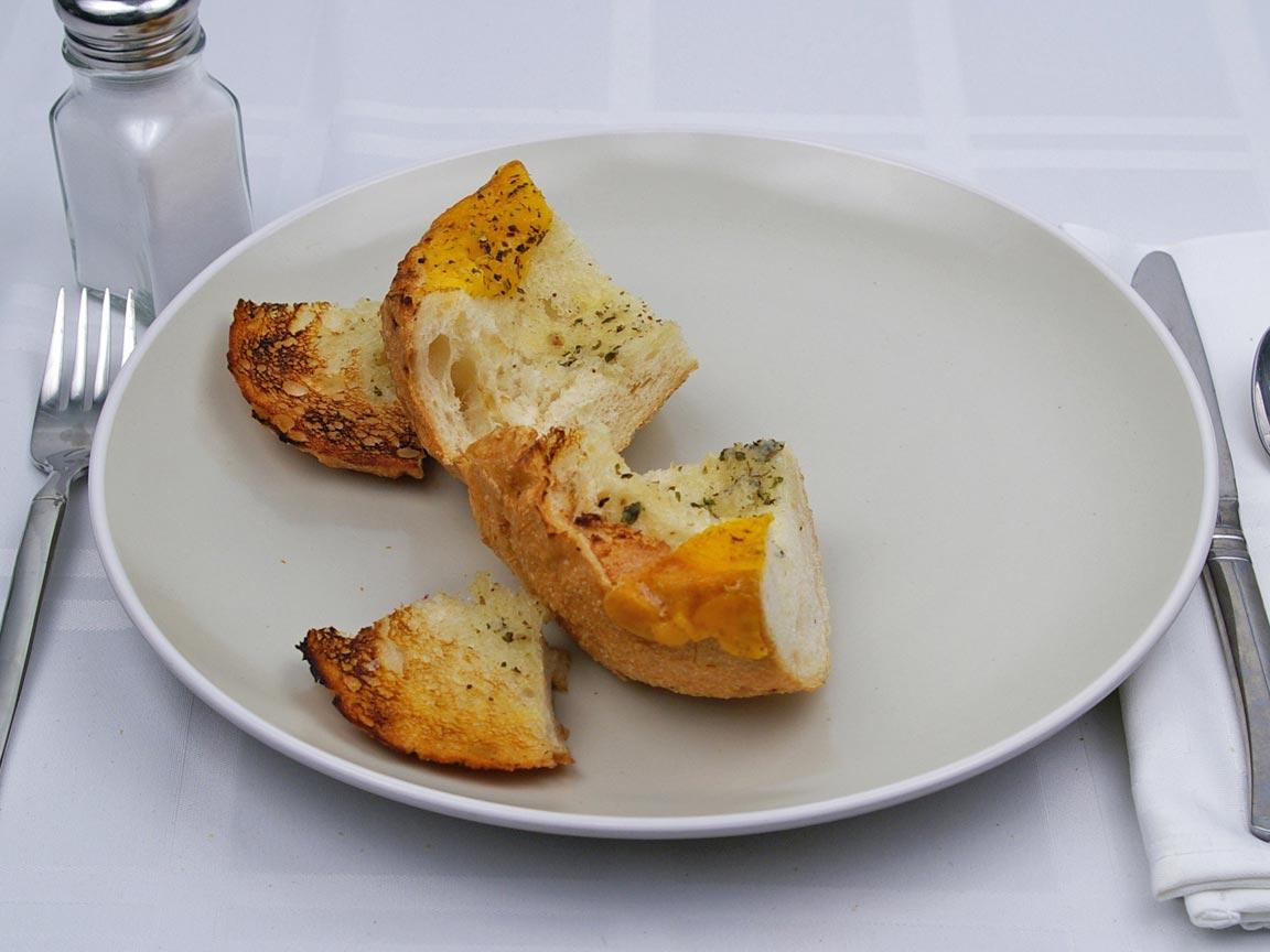 Calories in 0.5 bowl(s) of Quiznos - Sourdough Bread Bowl