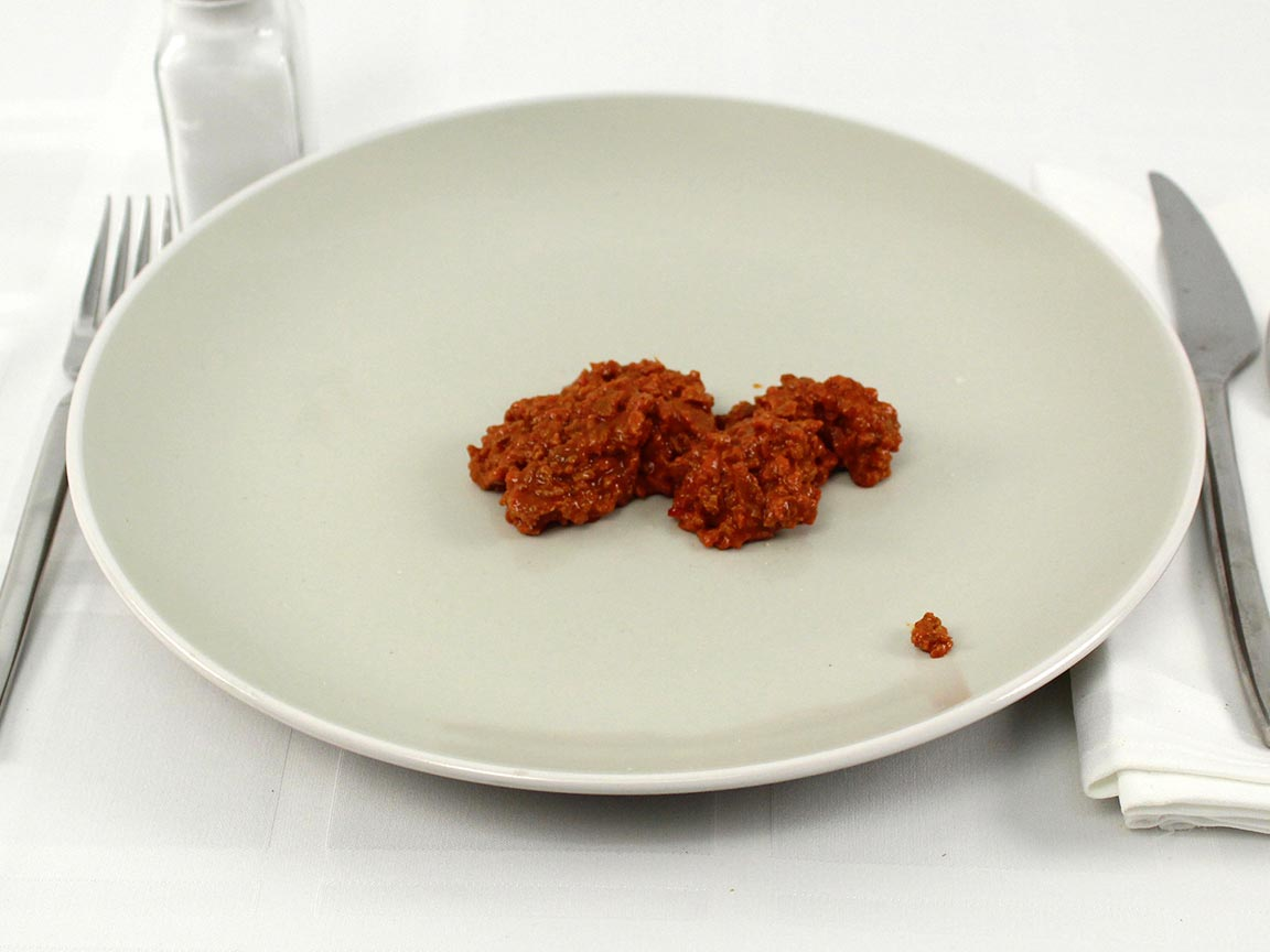 Calories in 42 grams of Soy Chorizo