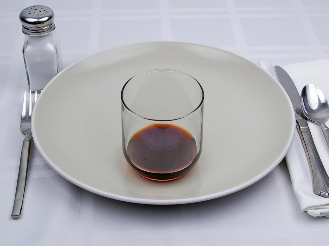 Calories in 8 tsp(s) of Soy Sauce - Low Sodium