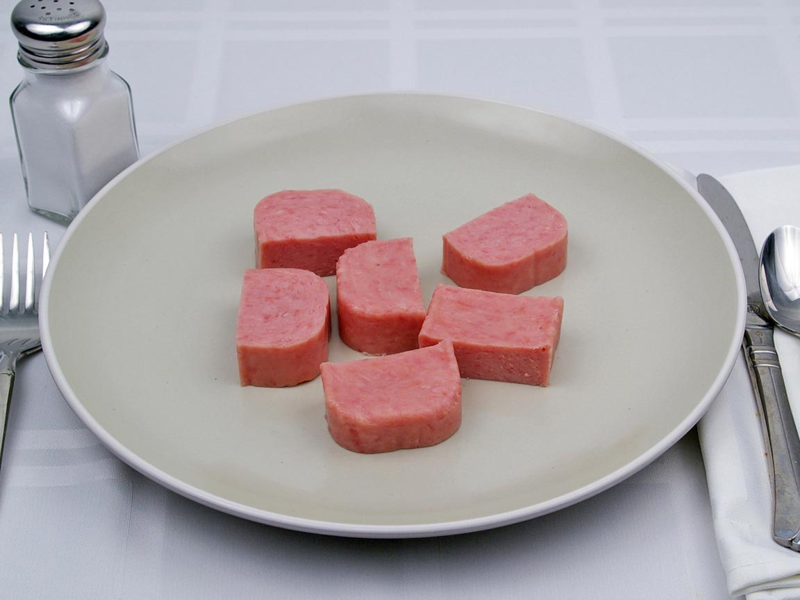 Calories in 170 grams of Spam - Lite