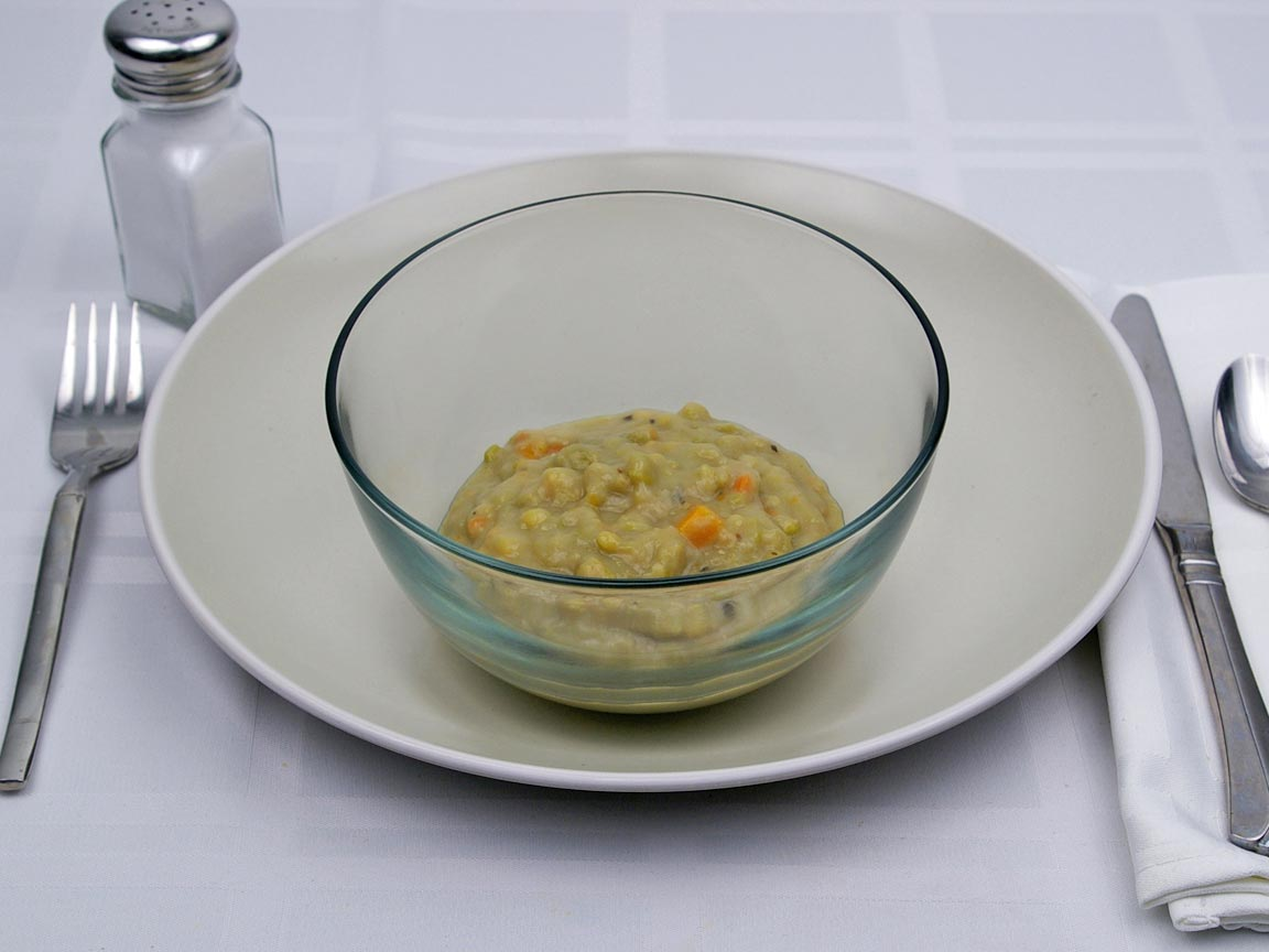 Calories in 0.75 cup(s) of Split Pea Soup