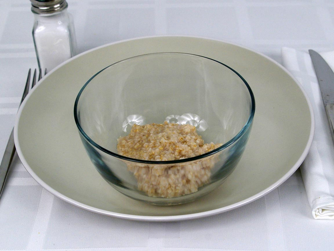 Calories in 0.5 cup(s) of Steel Cut Oatmeal made with Water