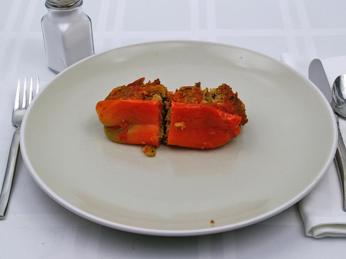 Calories in 1 pepper(s) of Stuffed Peppers - Turkey and Rice